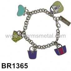 BR1365 - Bracelet With Handbag Charms