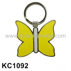 KC1092 - Butterfly With Enamel Key Chain