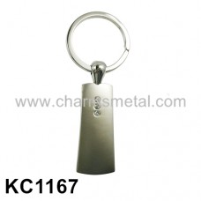 KC1167 - Metal Key Chain With Crystals