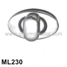 ML230 - Oval Metal Turn Lock