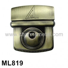 ML819 - Metal Insert With Key Lock