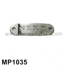 "MP1035 - ""NEXT"" Metal Plate"