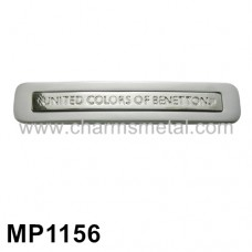 "MP1156 - ""UNITED COLORS OF BENETTON"" Metal Plate"