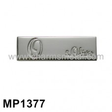 "MP1377 - ""s.Oliver"" Metal Plate"
