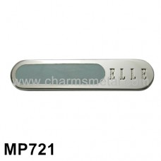 "MP721 - Small ""ELLE"" Metal Plate"