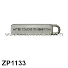 "ZP1133 - ""UNITED COLORS OF BENETTON"" Zipper Puller"