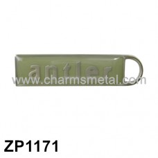 "ZP1171 - ""Antler"" Zipper Puller With Enamel"
