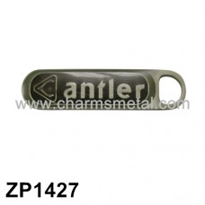 "ZP1427 - ""Antler"" Zipper Puller With Enamel"